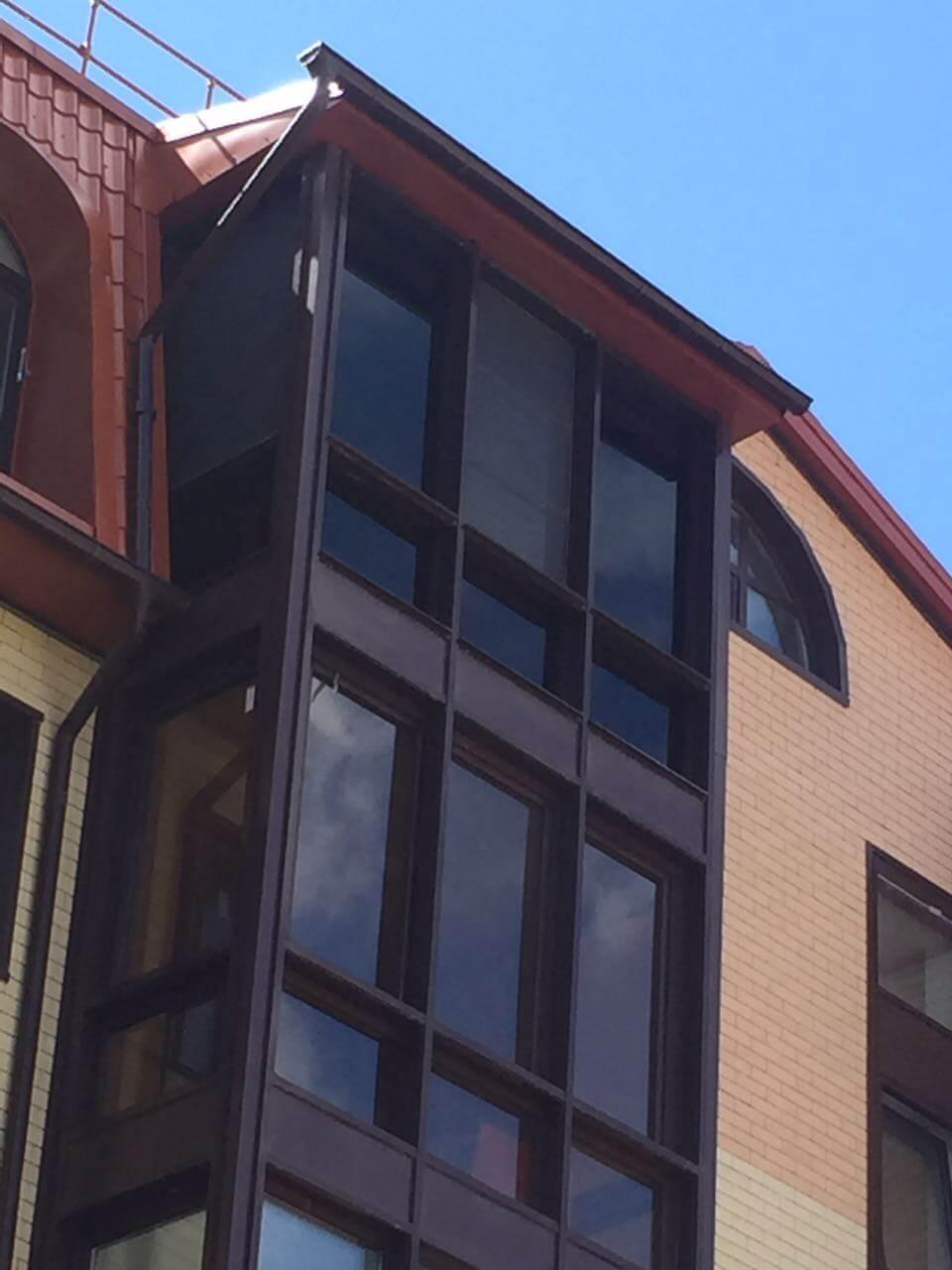 Тонировка окон балкона пленкой - затонировать лоджию в москв.